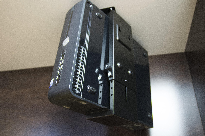 Vivo Adjustable Computer Case Holder Swivel Under Desk Wall Pc Mount