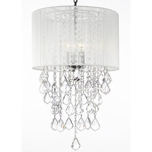 Orren Ellis Hoyer 3-Light Chandelier