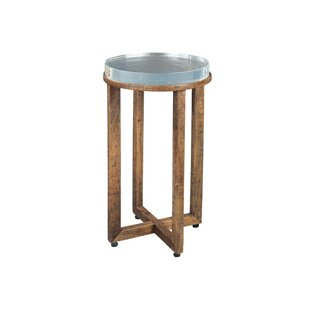 Violette Acrylic Top End Table by Gracie Oaks