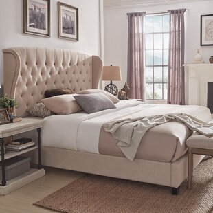 Lora Upholstered Bed by Canora Grey