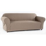 Stretch Waffle Box Cushion Sofa Slipcover by Red Barrel Studio®
