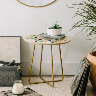 Fimbis Scandi Octagon End Table by East Urban Home