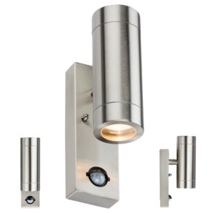 outdoor up down lights pir ranee up and down light outdoor spotlight and lights wayfaircouk