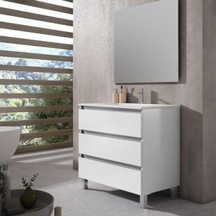 Gutirrez Single Vanity Unit By 17 Stories