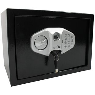 Solid Steel Safe Box with Biometric Lock by Meridian Point