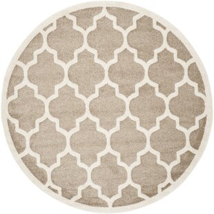 Maritza WheatBeige IndoorOutdoor Area Rug by Willa Arlo Interiors
