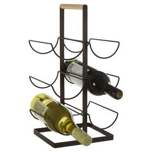 Bucoli 6 Bottles Wine Rack By Mercury Row