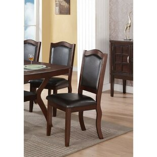 Rubino Contemporary Upholstered Dining Chair (Set of 2) Charlton Home