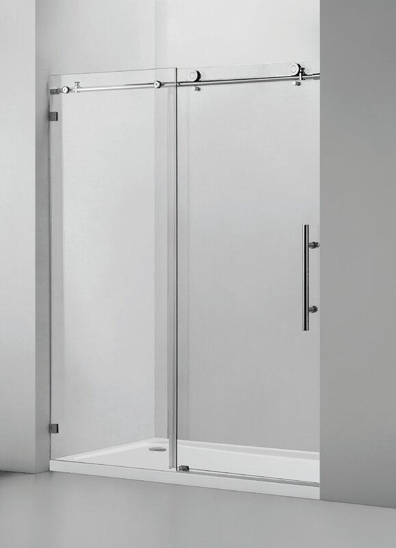 Less Care Single door Shower Door   Item# 8432