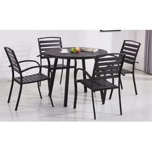 Wrought Studio Gallien Modern Contemporary 5 Piece Dining Set