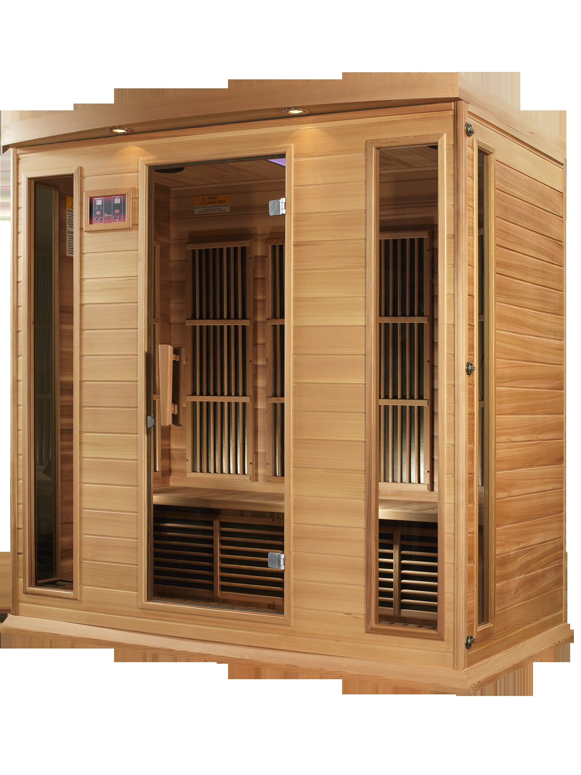 Dynamic Infrared 4 Person FAR Infrared Sauna & Reviews | Wayfair on grocery store lighting ideas, terrace lighting ideas, room lighting ideas, clubhouse lighting ideas, balcony lighting ideas, yoga studio lighting ideas, custom home lighting ideas, boat lift lighting ideas, bath lighting ideas, spa lighting ideas, bbq lighting ideas, elegant bathroom lighting ideas, police lighting ideas, wood deck lighting ideas, security lighting ideas, gym lighting ideas, solarium lighting ideas, sauna flooring, roof deck lighting ideas, beachfront lighting ideas,