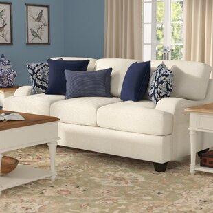 Simmons Upholstery Hattiesburg Stone Sofa by Three Posts