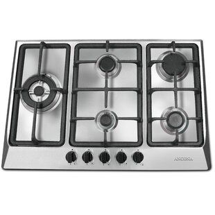 30 Gas Cooktop with 5 Burners