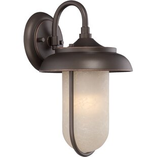 Compare prices Bentleyville 1-Light Outdoor Barn Light By Gracie Oaks