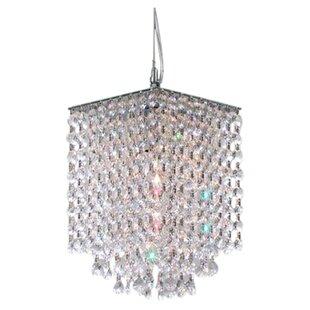 Orren Ellis Holquin 1-Light Crystal Pendant