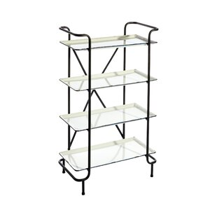 Barner 4 Tiered Etagere Bookcase