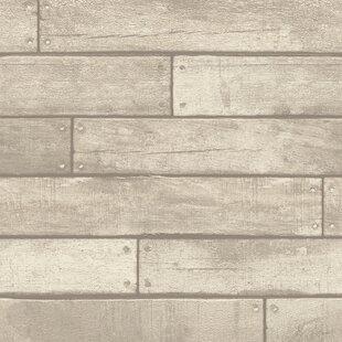. Wood   Shiplap Wallpaper You ll Love in 2019   Wayfair