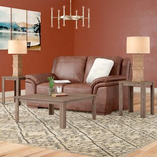 Union Rustic Fontes 3 Piece Coffee Table Set