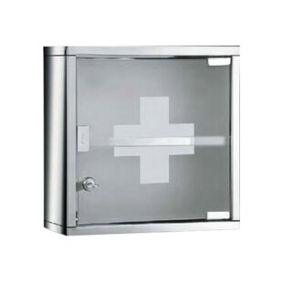 Vernia 30cm X 30cm Surface Mount Medicine Cabinet By Belfry Bathroom