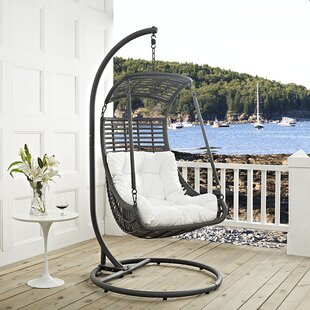 Jungle Swing Chair with Stand by Modway