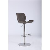 Bernick Swivel Adjustable Height Bar Stool by Orren Ellis