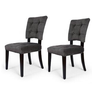 Naida Velvet Upholstered Dining Chair (Se..