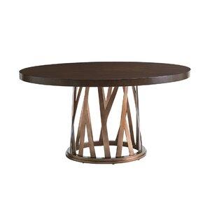 Zavala Horizons Round Dining Table by Lex..
