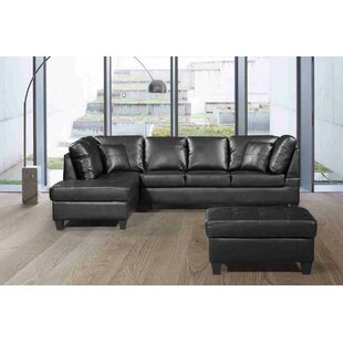 Hentschel Sectional with Ottoman