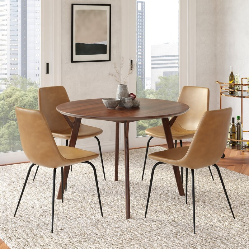 Union Rustic Ryans Upholstered Dining Chair Reviews Wayfair