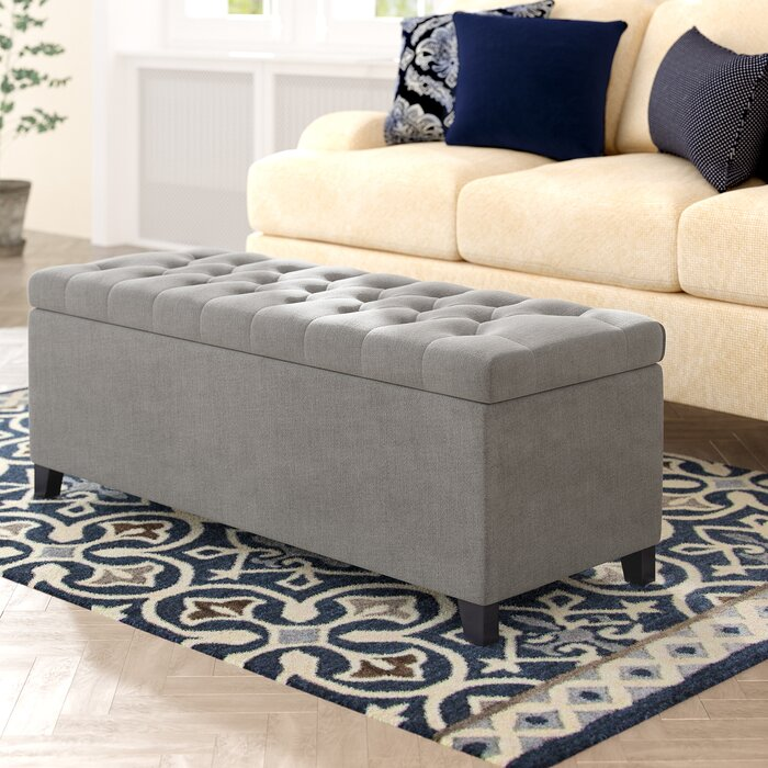 Wondrous Brecksville Tufted Storage Ottoman Andrewgaddart Wooden Chair Designs For Living Room Andrewgaddartcom