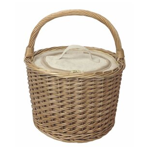Round Chiller Picnic Basket By Brambly Cottage