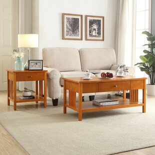 Bechtel 2 Piece Coffee Table Set
