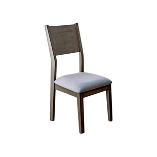 Lepe Wooden Upholstered Dining Chair (Set of 2) by Brayden Studio