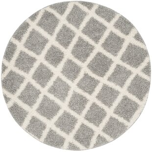 Knoxville Gray/Ivory Area Rug by Alcott Hill