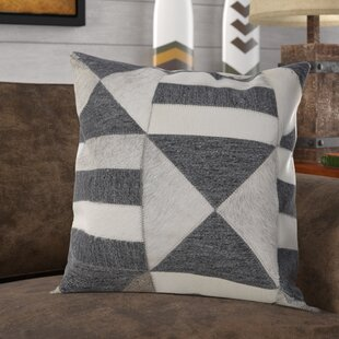 Chung Farmhouse Faux Fur Throw Pillow