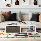 Melvin 4 Legs Coffee Table with Storage