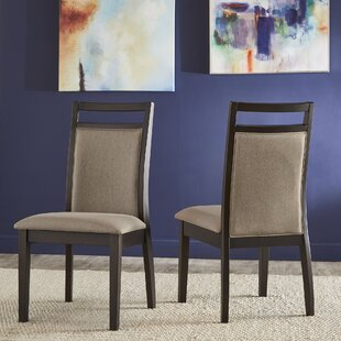 Charan Parsons Chair in Gray Set of 2