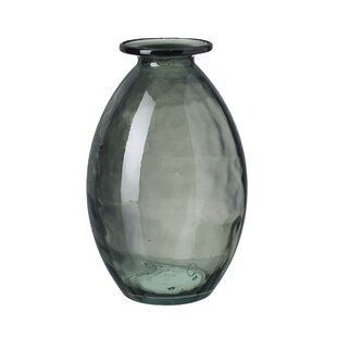 Reasonable Vintage Multicoloured Glass Basket Vase Fashionable And Attractive Packages Pottery, Porcelain & Glass