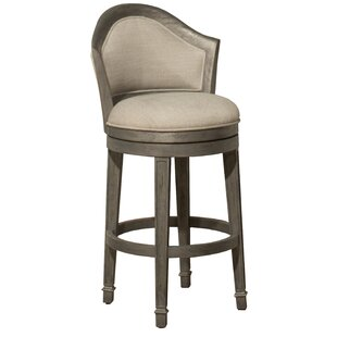 One Allium Way Gudrun 30'' Swivel Bar Stool