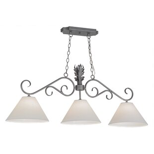 Monaco 3-Light Kitchen Island Pendant by Meyda Tiffany
