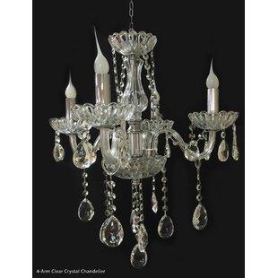 House of Hampton Fianna 4-Light Candle St..