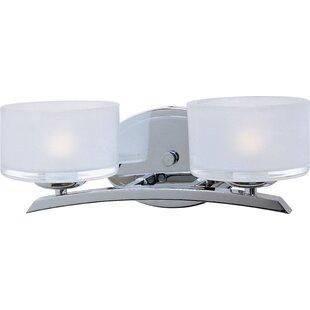 Affordable Ellisville 2-Light Vanity Light By Red Barrel Studio