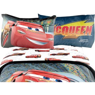 Cars 3 4 Piece Sheet Set By Disney