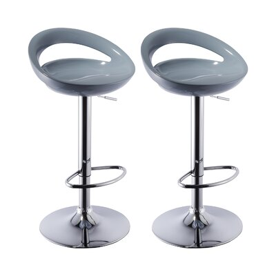 Grey Seat Bar Stools You Ll Love Wayfair Co Uk