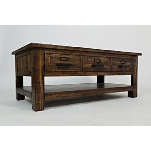 Wooten Coffee Table with Storage