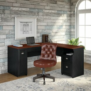 Oakridge Desk And Chair Set by Beachcrest Home Great Reviews