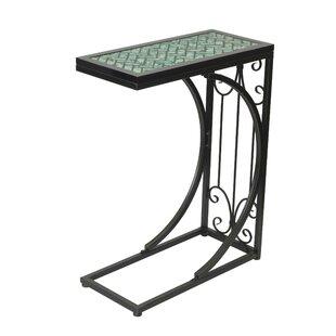 Wynne Mosaic Top End Table by Fleur De Lis Living