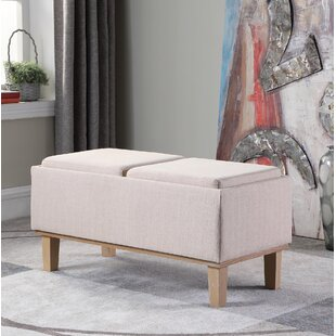 Rafal Upholstered Storage Bench