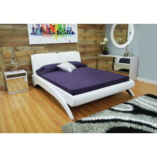 Westerman Arched Leg Queen Upholstered Platform Bed by Latitude Run