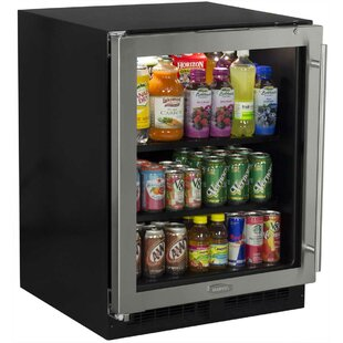 Low Profile 24-inch 4.9 cu. ft. Undercounter Beverage Center